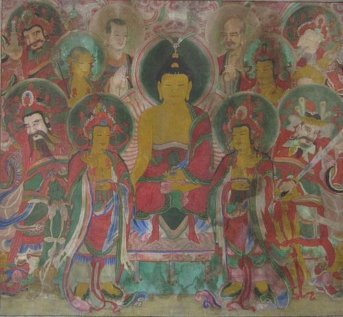 Korean Buddhist Religious Painting