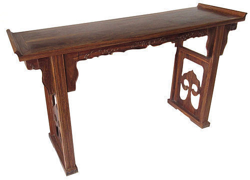 Chinese Beautiful Huanghuali Hardwood Altar Table
