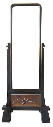 Japanese Tall Standing Mirror