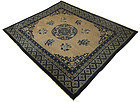 Antique Chinese Peking Carpet