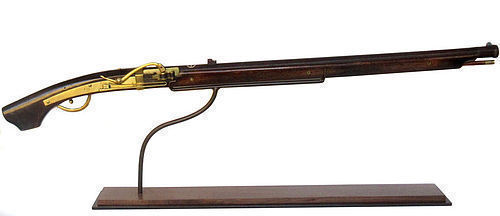 Antique Japanese Tanegashima Teppo Matchlock Rifle
