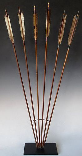 Antique Japanese Set of Arrows