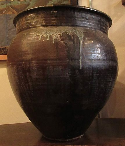 Antique Japanese Shigaraki Jar