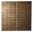Antique Japanese 2-Panel Silver Screen