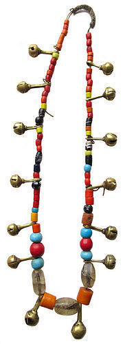 Antique Tribal Naga Beaded Necklace