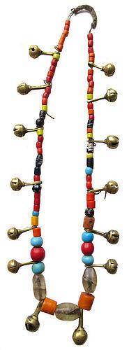 Antique Tribal Naga Beaded Necklace