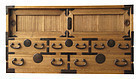Antique Japanese Small Kiri Personal Tansu