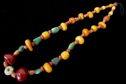 19th Century Tibetan Necklace