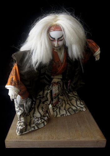 Japanese Lion Dance Kabuki Actor Doll