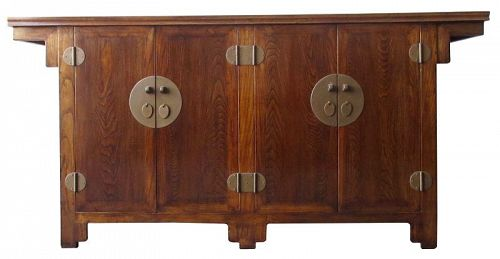 Antique Chinese Buffet Cabinet