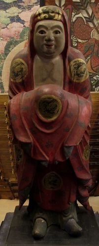 Japanese Edo Period Standing Daruma