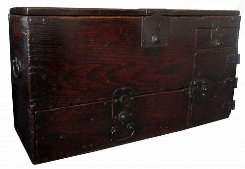 Antique Japanese Zenibako (Money Box)