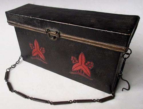 Japanese Foot Soldier's Gun Powder Box