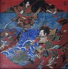 Japanese Ema - Battle of Dan-no-ura