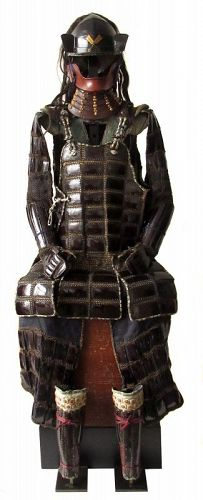 Rare Japanese Hachigane with Karuta Tatami Armor