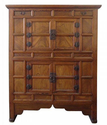 Antique Korean Kitchen Cabinet - Korean, Furniture From The Zentner Collection Of Antique Asian Art