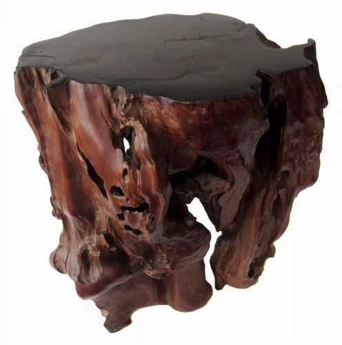 Japanese Natural Burl Root Stand