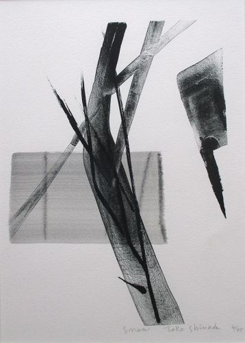 """Snow"" print by Toko Shinoda"