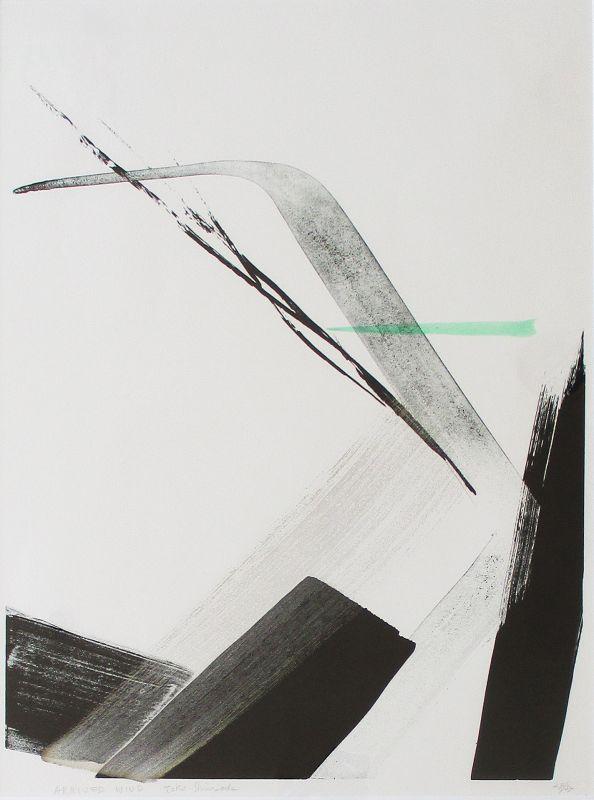 """Arrived Wind"" print by Toko Shinoda"