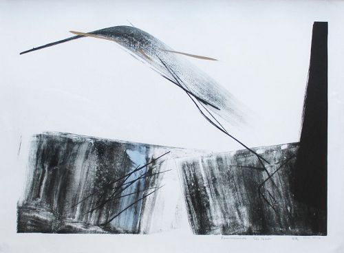 "Large Toko Shinoda print ""Reminiscence"""