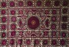 Antique Persian Suzani Embroidered Textile