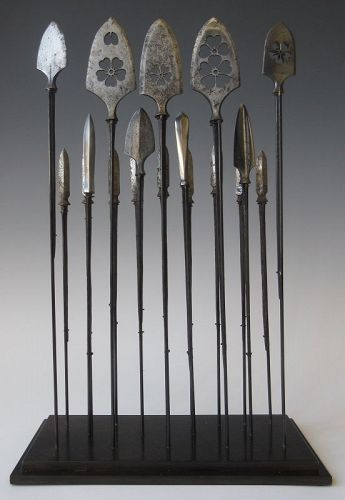 Japanese Set of 18 Piercing Arrow Collection