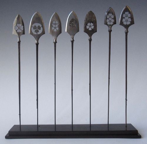 Japanese Set of 7 Piercing Arrows Collection