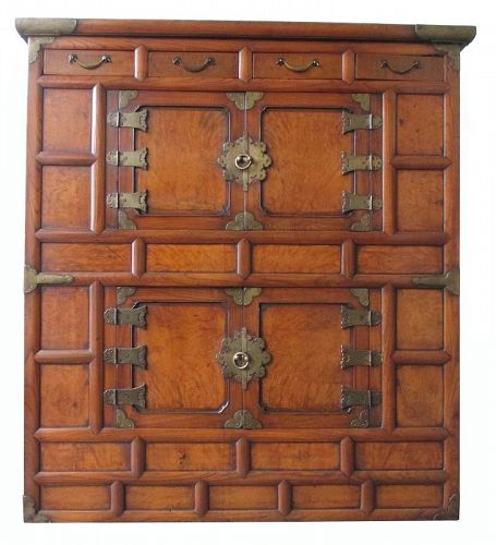 Korean Personal Single Section Cabinet