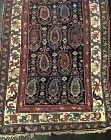 Antique Hand-Woven Caucasian Shirvan Azeri Rug