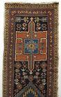 Antique Hand-Woven Caucasian Karaja Azeri Runner Rug