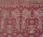 Framed Balinese Kampuh Songket Men's Ceremonial Wrapper