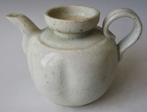 Antique Chinese Qingbai Porcelain Teapot