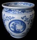 Antique Chinese Blue and White Porcelain