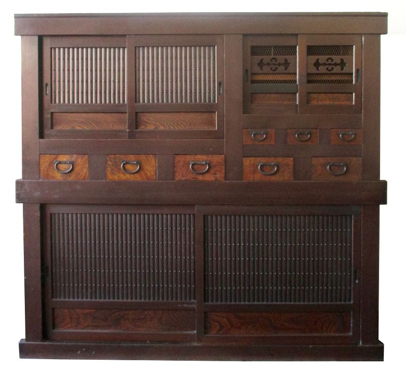 Antique Japanese 2 Section Mizuya