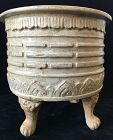 Rare 15th C. Antique Vietnamese Tripod Censer