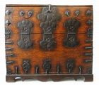 Antique Korean Bandaji (Blanket Storage Trunk)
