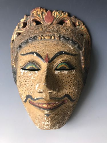 Antique Indonesian Mask