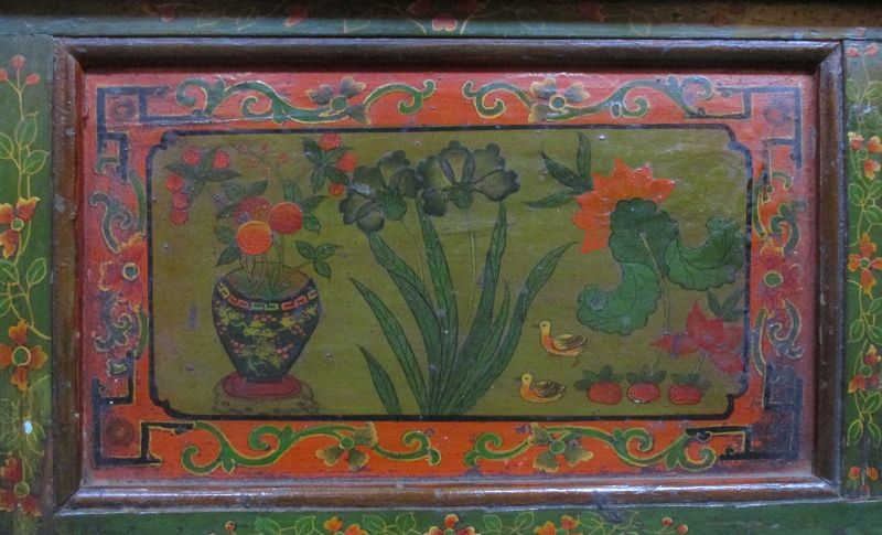 Rare Pair of Traveling Tibetan 18th Century Prayer Tables