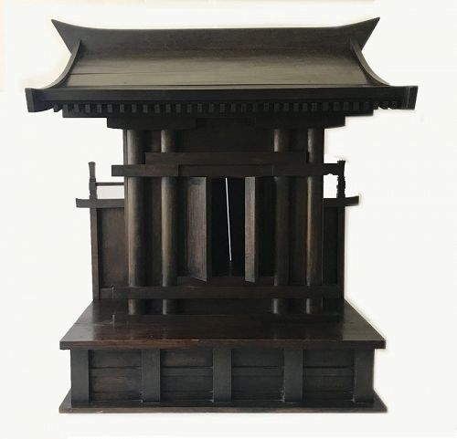 Antique Japanese Shinto Shrine