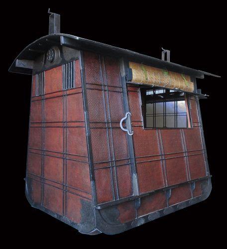 Antique Japanese Norimono Palanquin