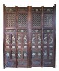 Antique 18th Century Japanese Temple Doors