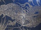 Japanese Antique Buddhist Dragon Textile