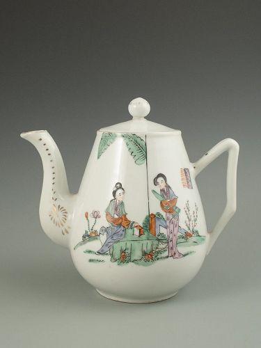Chinese Antique Porcelain Teapot