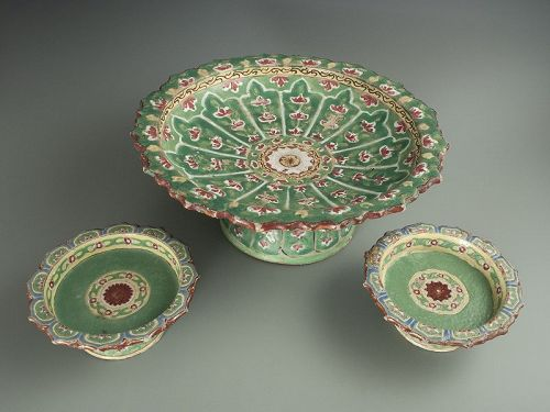 Thai Benjarong Enamels Dishes