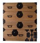 Antique Japanese Kiri Kasane Tansu with Secret Hiding Box Meiji Era