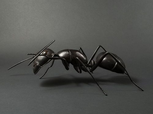 Japanese Contemporary Sculpture of an Ant
