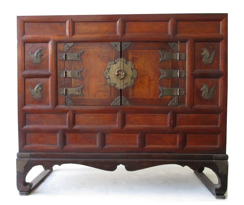 Antique Korean Bedside Chest