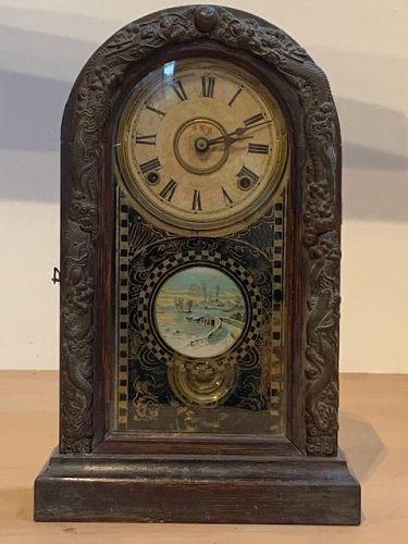 Japanese Antique Standing Pendulum Clock