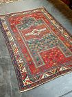 Antique Azeri Tribal Handknotted Carpet