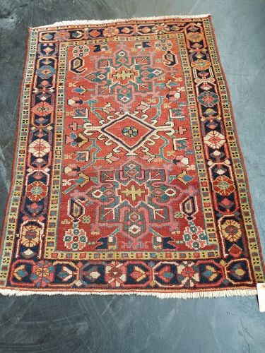 Antique Middle East Tribal Handknotted Carpet